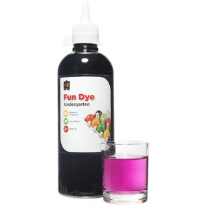 Educational Colours Kindergarten Liquid Fun Dye Purple 500mL