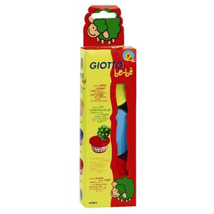 Giotto Be-Be Dough Red/Blue/Yellow 3 Pack