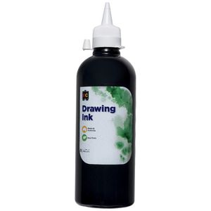 Educational Colours Drawing Ink 500mL Black