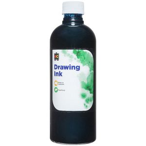 Educational Colours Drawing Ink 500mL Prussian Blue