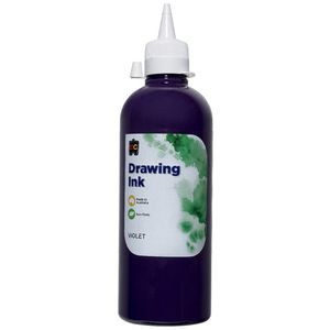 Educational Colours Drawing Ink 500mL Violet