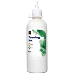 Educational Colours Drawing Ink 500mL White