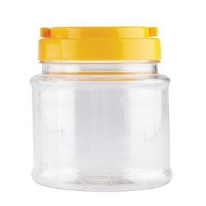 Educational Colours Screw Cap Jars Clear 700mL