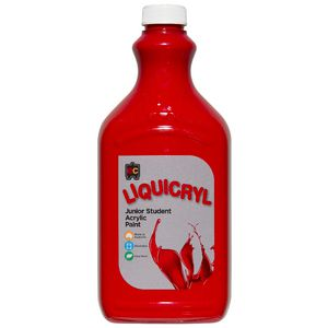 Educational Colours Liquicryl Paint 2L Vermillion