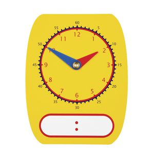 Educational Colours Digital Analogue Dry Erase Clock Dial