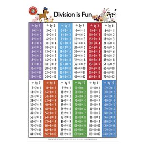 Learning Can Be Fun Division Is Fun Poster