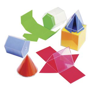 Learning Can Be Fun Folding 3D Geometry Figures