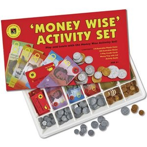 Learning Can Be Fun Money Wise Activity Set
