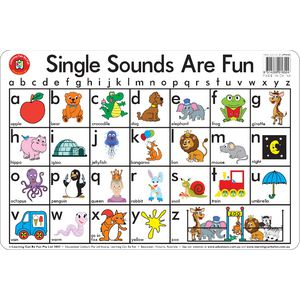 Learning Can Be Fun Desk Mat Single Sounds Are Fun