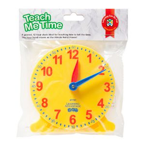 Learning Advantage Teach Me Time Clock