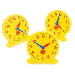 Learning Can Be Fun Right On Time Student Clock 6 Pack