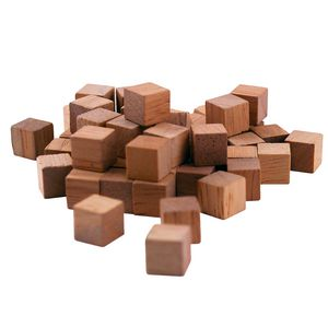 Learning Can Be Fun Wooden Cubes 100 Pack