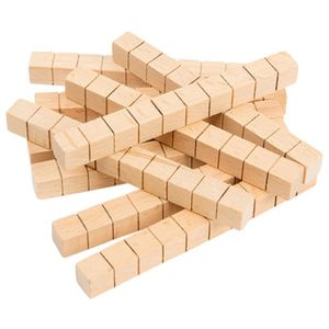 Learning Can Be Fun Wooden Rods 50 Pack