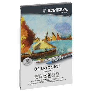 Lyra Aquacolour Crayons 12 Pack