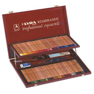 Lyra Rembrandt Aquarell Pencil Set in Wooden Case