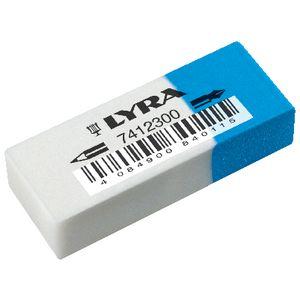 lyra combination eraser officeworks