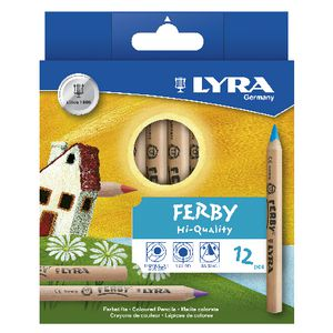 Lyra Ferby Colour Pencils 12 Pack