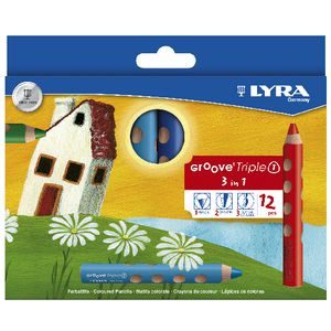 Lyra Groove Triple One Pencils 12 Pack