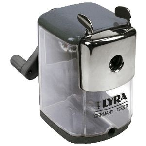 Lyra Metal Manual 1 Hole Sharpener