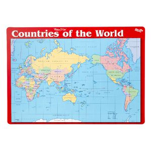 Gillian Miles Countries of The World Placemat
