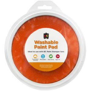 Educational Colours Paint Stamper Pad Orange