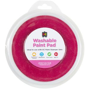 Educational Colours Paint Stamper Pad Pink