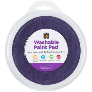 Educational Colours Paint Stamper Pad Purple