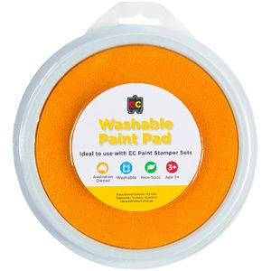 Educational Colours Paint Stamper Pad Yellow