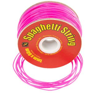 Educational Colours Spaghetti String Fluoro Pink