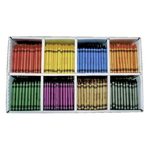 Educational Colours Crayons 800 Pack