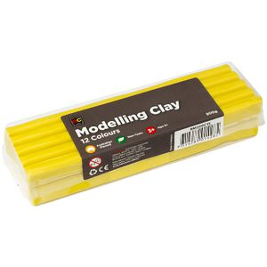 Educational Colours Modelling Clay Yellow 500g