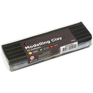 Educational Colours Modelling Clay Black 500g