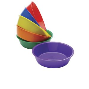 Educational Colours Sponge Bowls 6 Pack