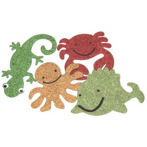 ELC Glitter Animal Shapes 4 Pack