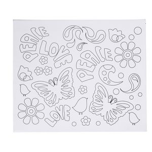 Paint It Canvas Set Butterfly Design