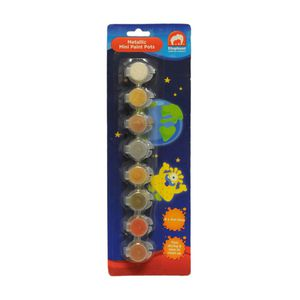 ELC Metallic Mini Paint Pots 8 Pack