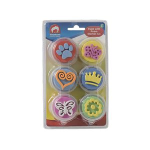 ELC Paint and Foam Stamps 6 Pack