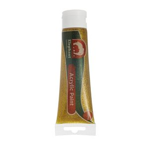ELC Acrylic Paint Gold Glitter 100mL