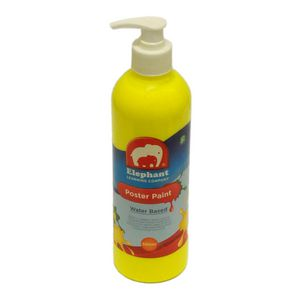 ELC Poster Paint Fluro Yellow 500mL