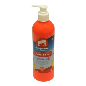 ELC Poster Paint Fluro Orange 500mL