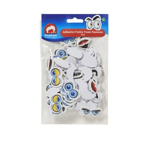 ELC Adhesive Funny Face Features 20g