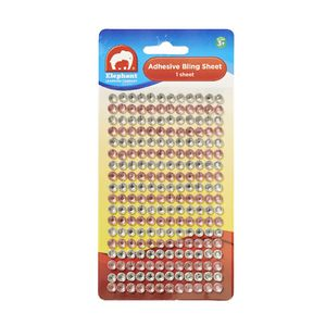 Elephant Learning Company Adhesive Bling Sheet