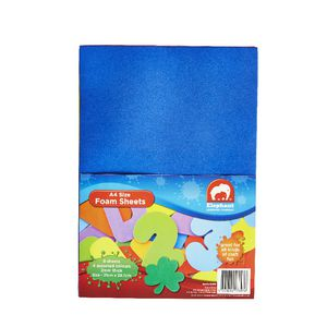 ELC A4 Foam Sheets Assorted Colours 8 Pack