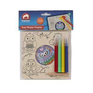 ELC Owl Photo Frame with 4 Markers