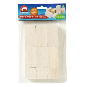 ELC Balsa Wood Blocks 9 Pack