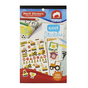 ELC Merit Sticker Book Cool 281 Stickers