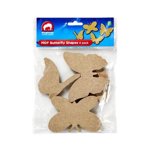 ELC MDF Shapes Butterfly 4 Pack