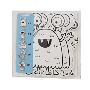 ELC Colour Me Shapes Aliens 20 Pack