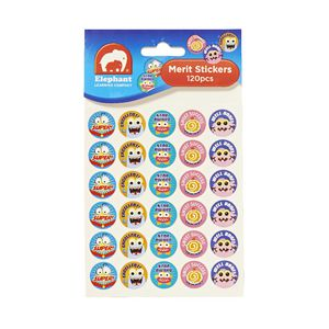 ELC Merit Stickers 120 Pack