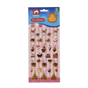 ELC Fun Stickers Puffy Cake Shop 30 Pack